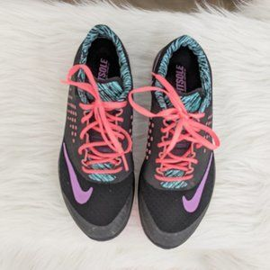 Nike Fitsole pink, purple & teal Athletic Shoes